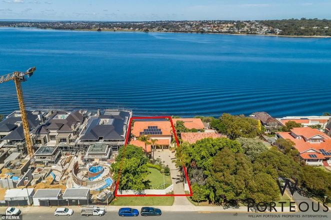 Retired anesthetist Freya Keogh offloaded her $12 million Jutland Parade home in Perth's Western suburbs for just $10.35 million