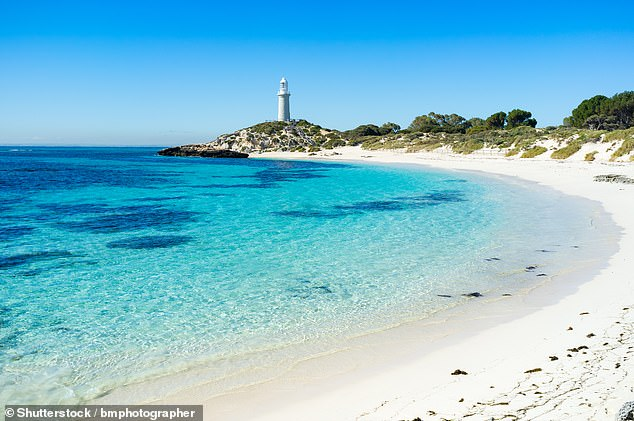 The dream jobs are being offered by Discovery Parks in some of Australia's most sought-after locations, including Rottnest Island (pictured)