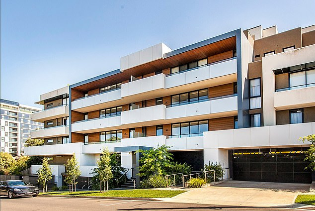 Lee splashed his ill-gotten cash on property and business ventures including restaurant investments. Pictured is the apartment block in Doncaster he rented using stolen funds