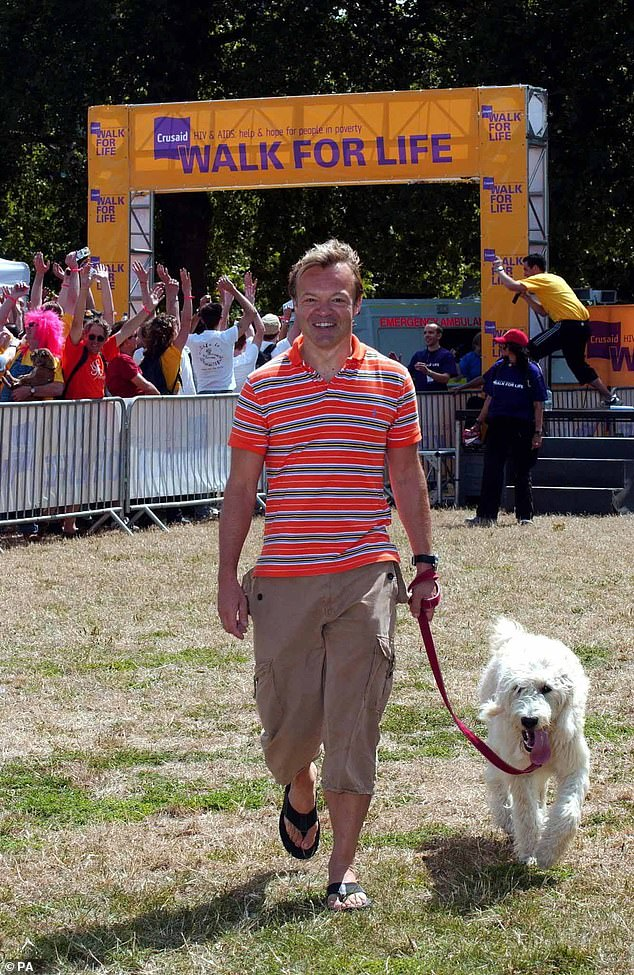 Among the celebs known to have adopted labradoodles — adding to their popularity — are actress Jennifer Aniston, golfer Tiger Woods and TV presenter Graham Norton, pictured