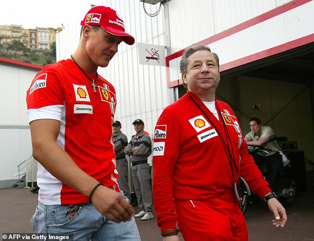 FIA president Todt is among just a handful of visitors to see the 51-year-old F1 legend since