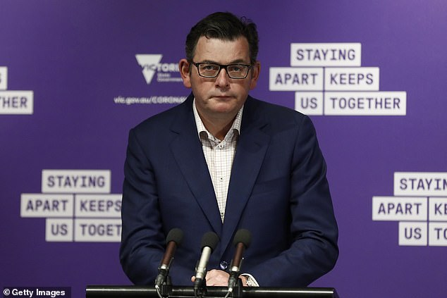 A top QC has labelled the coronavirus curfew imposed on Melbourne by Victorian Premier Daniel Andrews (pictured) during Stage Four lockdown as 'invalid'