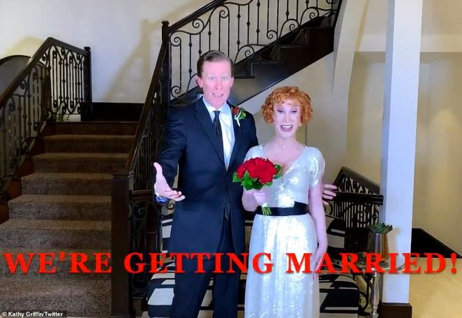 Griffin has had an eventful year as she rang in 2020 by marrying her longtime partner Randy Bick in a surprise New Year's Eve ceremony
