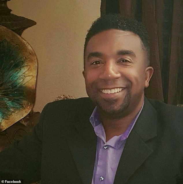 Joel Broussard (pictured), a resident of Elk Grove, was killed in the car crash on Tuesday evening