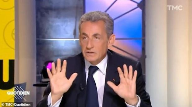 Former French President Nicolas Sarkozy who is at the center of a racism row