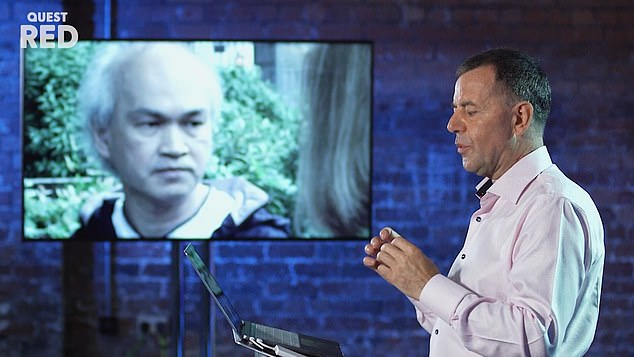 Experts on Faking It: Tears of a Crime have now revealed how Nguyen exposed himself as a fraudster after analysing his 'dead eye stare' in the 'emotionless' interview. Pictured: The show