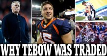 Devout Christian quarterback Tim Tebow destroyed his relationship with the Denver Broncos and ruined his football career by 'hogging the spotlight' and charging k for church speaking gigs, claims new book about John Elway – We at BCNN1 Still Believe That Tim Tebow Needs to Go Back to Pastor Robert Jeffress and First Baptist Dallas and Apologize for Refusing to Speak at Their New Church Building Dedication Ceremony Because He Did Not Want to Offend the Homosexual Community or Else His Sports Career is Never Going to Work Out
