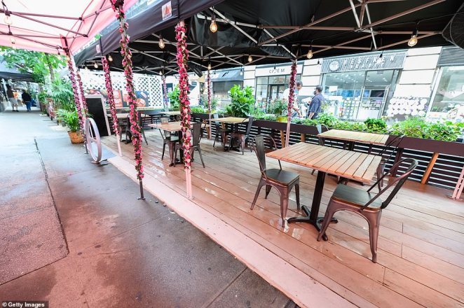 Outdoor dining has allowed businesses to reopen but none are making money and many will soon run out of whatever they have left, the industry experts say