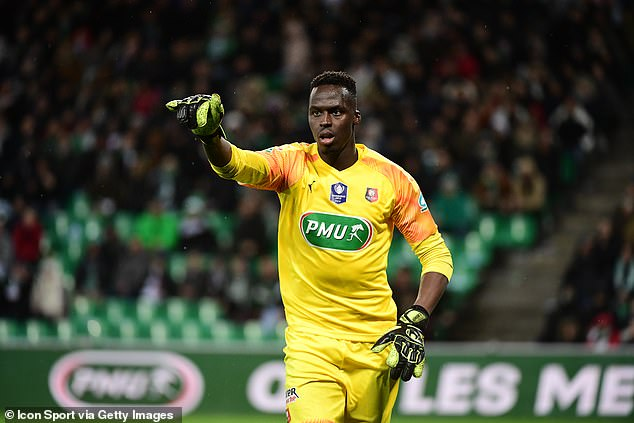 Mendy was pulled out of training with Rennes on Friday after Chelsea's bid had been accepted