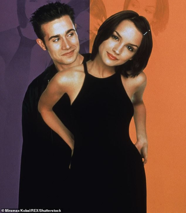 A big hit in 1999:The Netflix movie is a female version of the hit 1999 teen blockbuster She's All That which starred Freddie Prinze Jr as the big man on campus and Rachael Leigh Cook as the dork he turns into a pinup