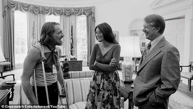 On September 13, 1980, Carter had been in the heat of his reelection campaign against Ronald Reagan when Nelson had stopped by for a set at the White House