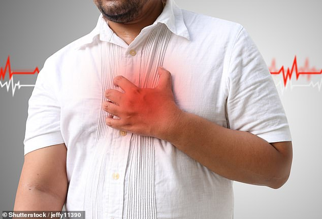 Measuring a person's heart rate could be a way of spotting if they are suffering from depression. Depressed people's hearts beat an extra ten to 15 times per minute on average during the daytime, a study has found. (File image)