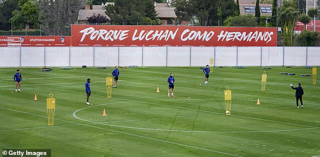 Atletico Madrid were forced to suspend their training camp due to a positive coronavirus test