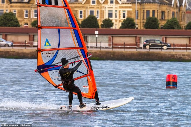 West Kirby is a hotspot for watersport lovers, sailing and windsurfing on the 52¿acre man-made Marine Lake