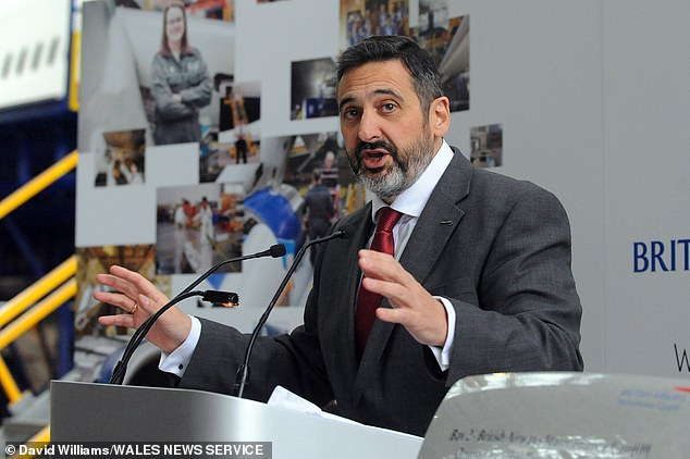 British Airways chief executive Alex Cruz (above) wants to seetesting introduced on the London to New York route and a bigger list of 'regional travel corridors', including the US
