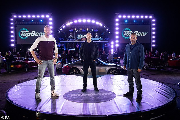 Hosts: As well as former Top Gear presenters returning to pay tribute, current hosts Paddy McGuinness, Freddie Flintoff and Chris Harris, as well as Rory Reid, also shared their respects