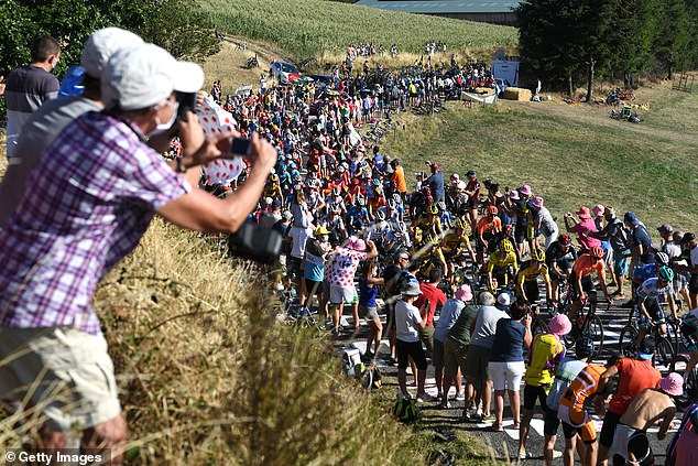 Race organisers will reinforce restrictions on climbs situated in coronavirus 'red zones'