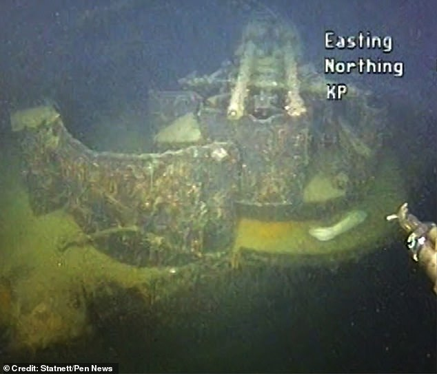The existence of a wreck 13 nautical miles from Kristiansand, a city in southern Norway, was first revealed by sonar in 2017, but in June this year an inspection of the ship was carried out that discovered it was the lost Nazi warship