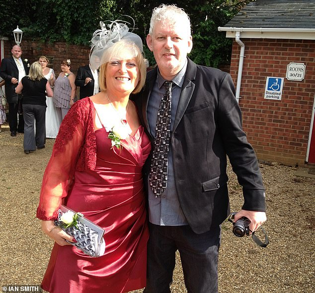 Ian Smith with his wife Sylvia before her illness. Two years ago, at the age of just 66, she inexplicably developed an aggressive, degenerative brain illness