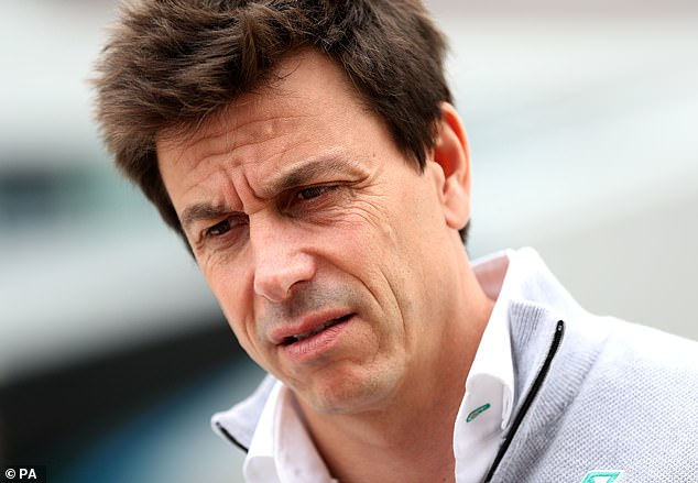 The future of Mercedes team principal Toto Wolff has been a major topic of discussion