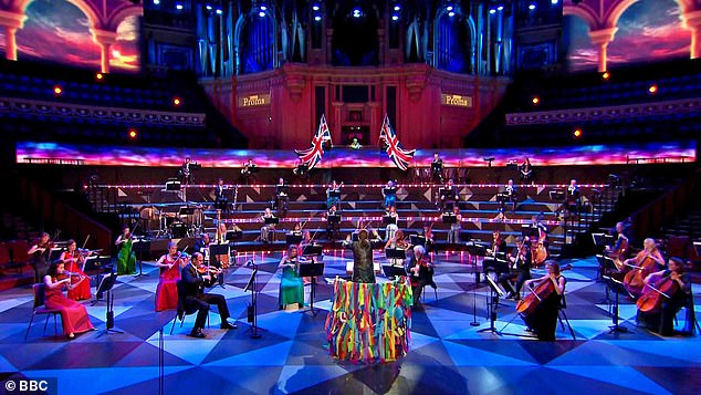 The BBC caved in to public pressure over the Last Night of the Proms and the pared-down concert did little to dent the enthusiasm of millions of viewers at home