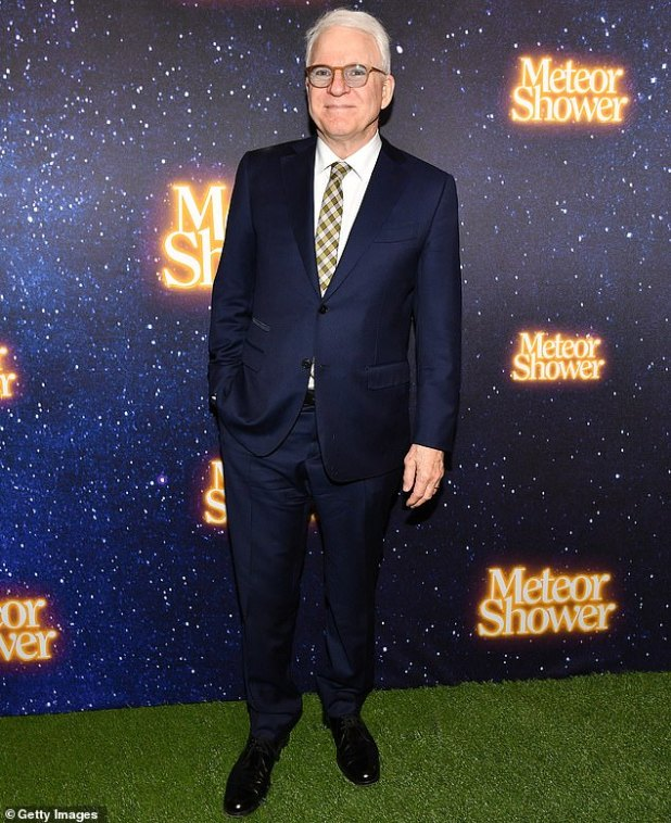 Mask Off: Steve was portrayed on the opening night of the Broadway play Meteor Shower in November 2017, written by him and starring Amy Schumer
