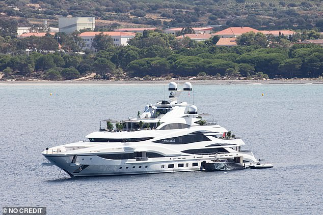 The billionaire, who holidays on his luxury yacht Lionheart, pictured, said he was 'extremely sorry to all those individuals impacted for the distress' caused