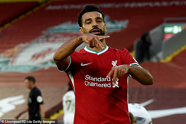 Salah scored a hat trick as Liverpool overtook newly promoted Leeds in an Anfield classic