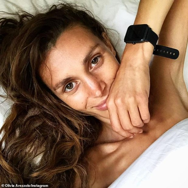 Olivia Arezolo (pictured) said that you might wonder if spending nine hours sleeping would make you get out of bed the next day, in fact it could mean the opposite