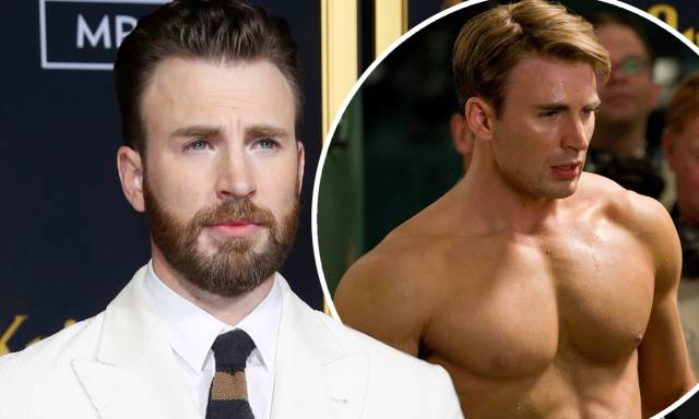 Chris Evans scandalizes social media after sharing an unidentified nude photo on his Instagram Story | Daily Mail Online