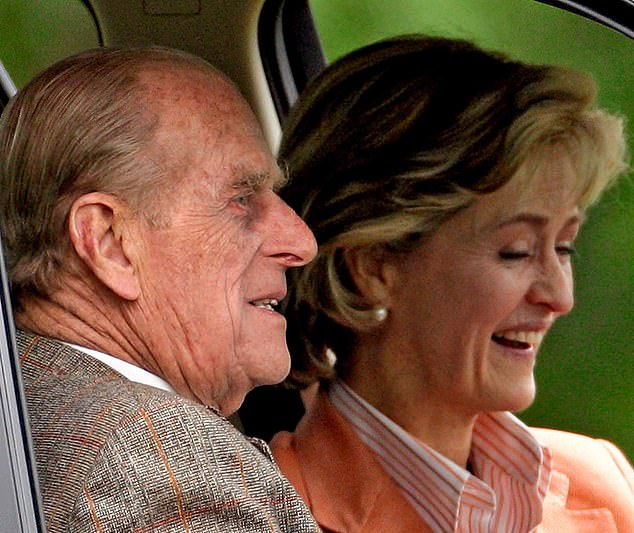 When the Duke was still driving competitively, they travelled the country together to participate in competitions. They are pictured together in 2009