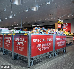 While the buys will be available across Aldi store locations, customers should act quickly as only a limited number of stock will be sold