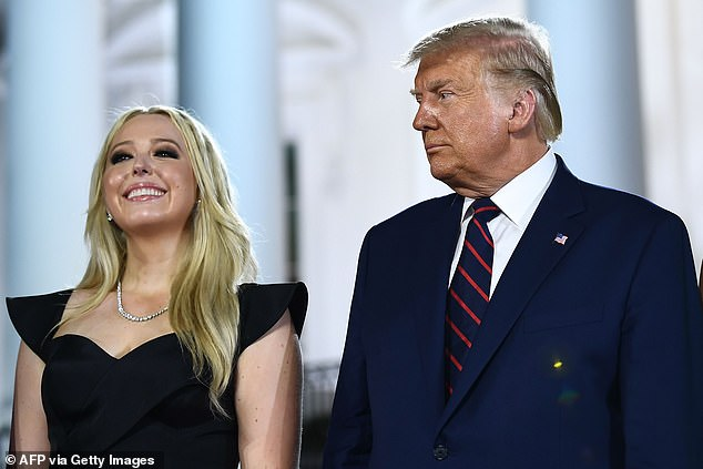 Samantha said that Tiffany Trump was made to feel her entire life as if she was 'unwanted' and believes she is just trying to fit in