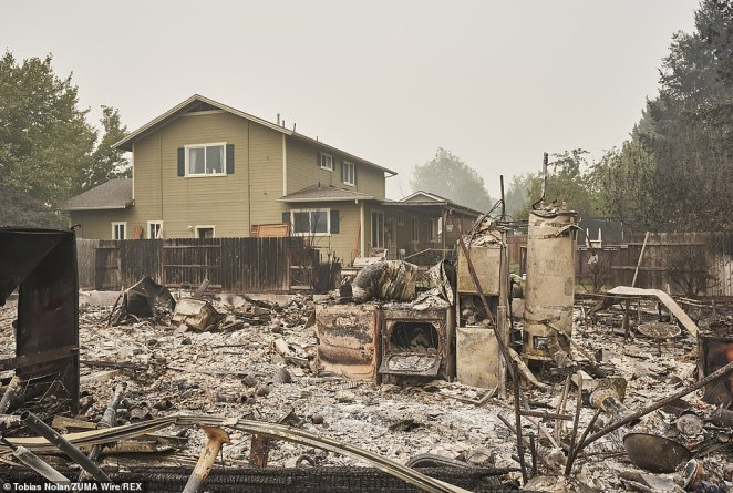 The Samuel Lane Loop neighborhood in Phoenix Oregon was completely devestated by the Almeda fire. Residents had only minutes to evacuate the fast moving fire.