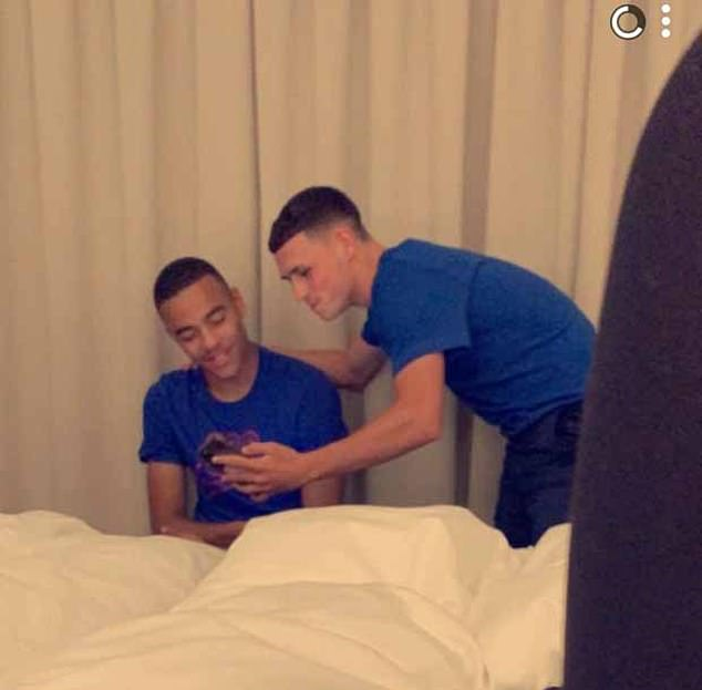 Greenwood reportedly turned up at Nadia's hotel room with Manchester City midfielder Phil Foden, 20