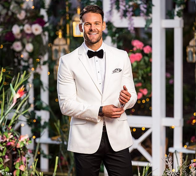 Shock revelation:Carlin (pictured) revealed on Big Brother star Sophie Budack's YouTube channel this month that he was originally in the running to be The Bachelor, before signing onto last year's season of The Bachelorette