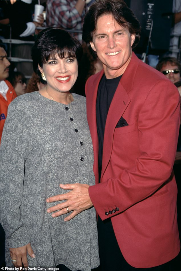 'She was the last to find out anything': Pam said she finds it 'unfair' that Caitlyn (pictured as Bruce with Kris in 1995) 'has been pushed aside'