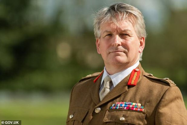 Lieutenant General Jim Hockenhull, head of the British Defense Department, said the missile had global reach and could 'attack from unexpected directions'