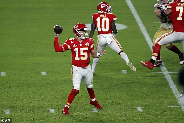 The Kansas City Chiefs are spearheaded by star quarterback Patrick Mahomes again this year