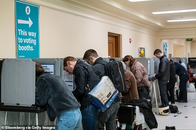 San Francisco residents (pictured) will not only be voting in the presidential election come November, but they will also cast votes to determine if youth will be allowed to vote in municipal elections