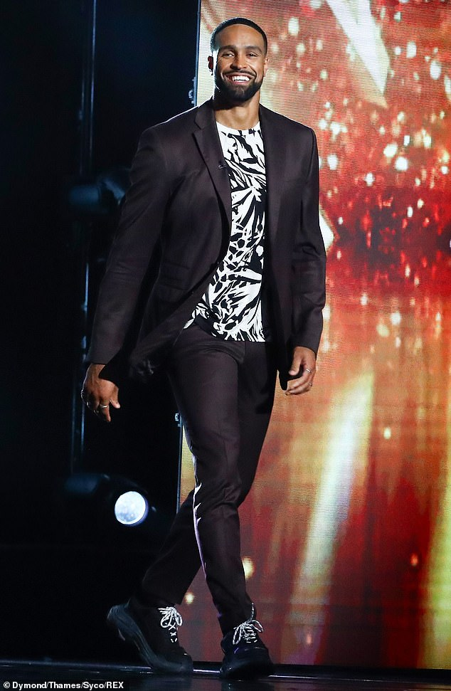 Still going strong: Britain's Got Talent's second semi-final pulled in 4.95 million viewers, just a week after its first show sparked backlash from viewers (Ashley pictured)