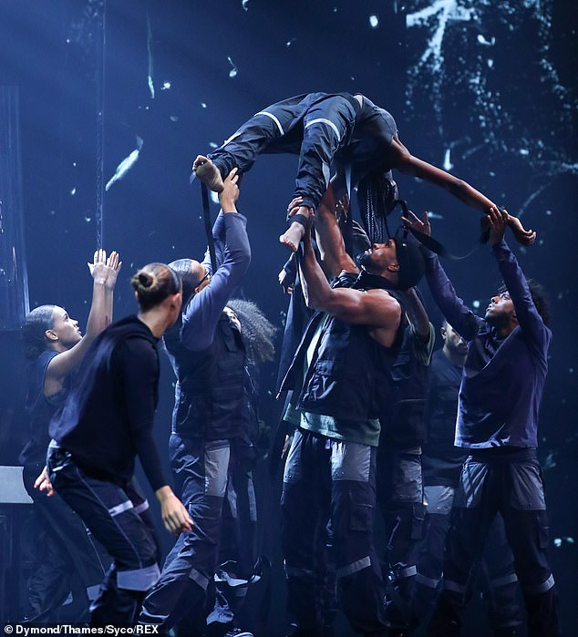 Shocking: The ITV show has been embroiled in controversy after Diversity took to the stage with a Black Lives Matter-inspired performance, sparking over 15,000 complaints