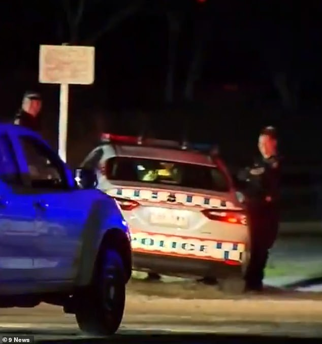 Emergency crews were called to O'Callaghan Park in Zillmere at about 5.35pm on Sunday following a fight between two African gangs.