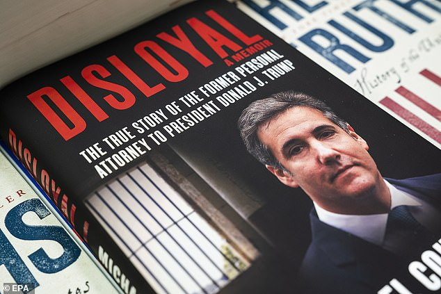 Cohen detailed Trump's belief that Putin secretly funded the deal in his new book Disloyal: A Memior, which was released on September 8