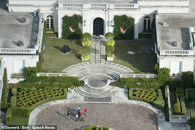 Trump bought the mansion in 2004 for more than $41million dollars and had trouble selling the sprawling 62,000-square foot property.In 2008 it was finally purchased by a Russian fertilizer king Dmitry Rybolovlev for $95million, nearly double when Trump paid for it