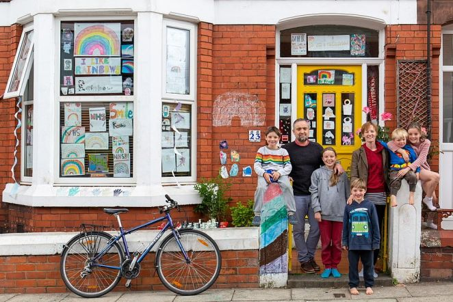 On Your Doorstep by Kenny Glover.Hold Still, a photography initiative launched by Kate with the National Portrait Gallery, attracted more than 31,000 entries from members of the public in just six weeks