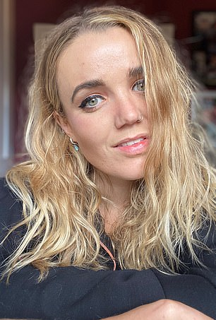 One of Emily's selfies before applying any editing