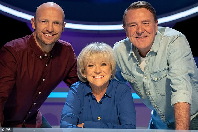 Sue Barker told Sportsmail: 'I love the show so much they would have to remove me, it would have been tough for me to walk away'
