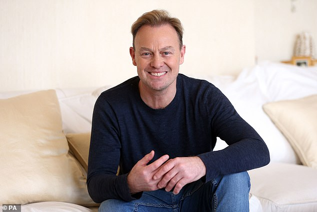 Ex: Her former lover and Neighbours co-star Jason Donovan will be competing in the upcoming series of Dancing On Ice (pictured in 2018)