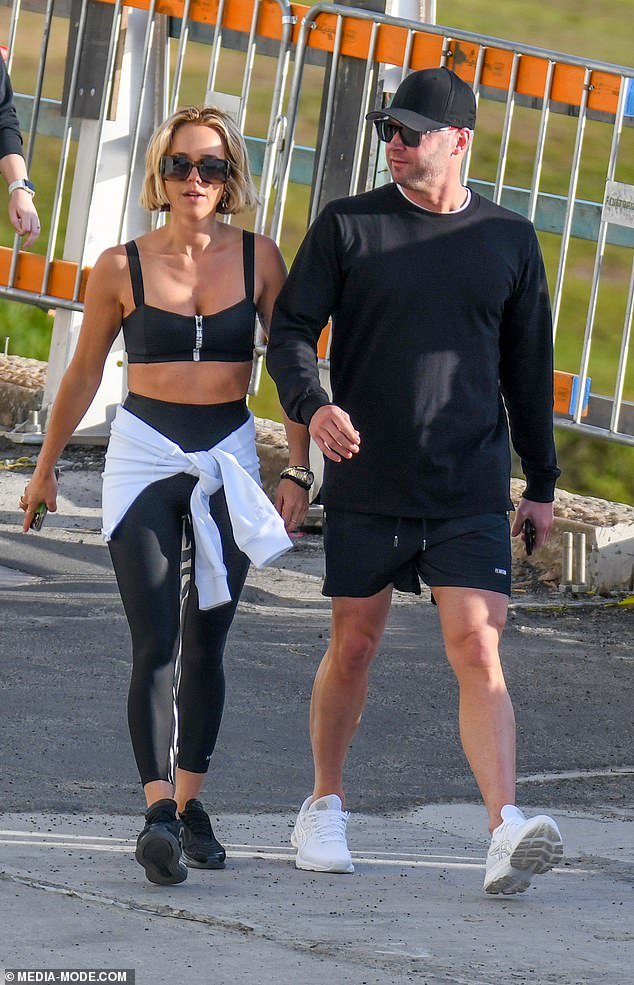 Looking good!The 40-year-old fitness influencer showed off her sensational figure in revealing activewear from her own line